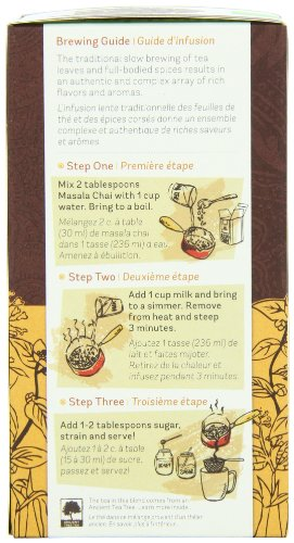 Rishi Tea Organic Masala Chai Loose Leaf Tea, 3.00 Ounces Tin