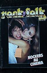 ROCK & FOLK 204 Robert altman Robert Plant Michael Jackson Bobby Fuller Eurythmics Hallyday Jane Birkin Gainsbourg Mick Jones