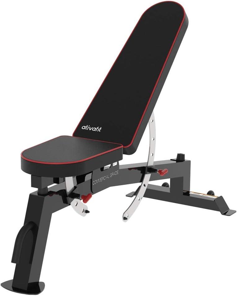 Ativafit Adjustable Weight Bench $79.99 Coupon