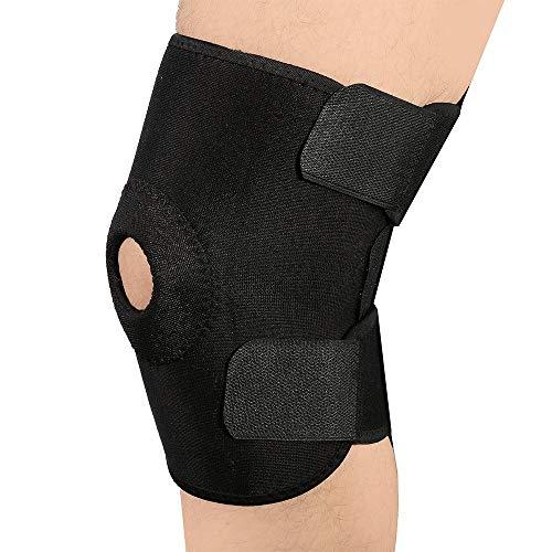 Dyna-Living Kniebandage, Kniebandage Männer Sport, Kniebandage Damen, Bandage Knie Knieorthese, Verstellbare Knieschoner Für Damen Herren Kinder (1 Pc)