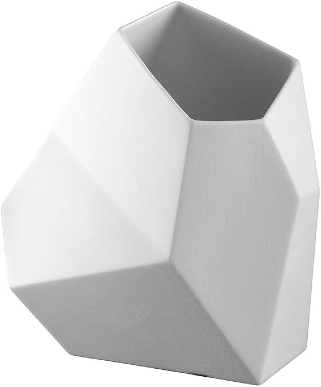 Rosanthal - Surface Vase - Blaumenvase 18 cm cm cm Weiß matt B003MRGSPO af0152
