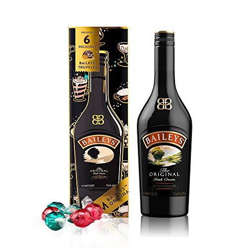 Baileys Original Irish Cream Likör, 700ml, mit 6 Baileys Trüffel