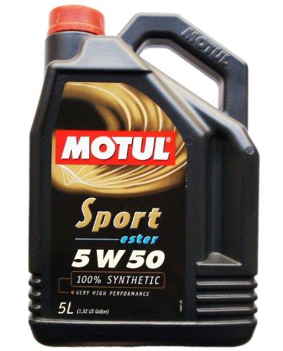 Motul 1x 5 Liter Sport 5w50 Ester 100% vollsynthetisch