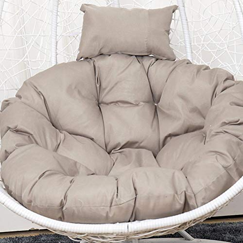 Hanging Egg Chair Cushion, Garden Swing Chair Cushion - Skin-Friendly Soft Swing Chair Cushion for Indoor, Outdoor, Balcony