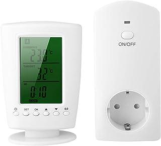 Vbestlife Enchufes Inalámbricos Inteligentes con Control Remoto Programable y Toma de Corriente de Control de Temperatura ...