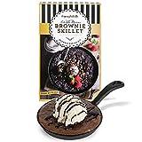 Modern Gourmet Foods, Set de Regalo para Hacer Brownies, Incluye Sartén de Hierro Fundido y Mezcla de Ingredientes