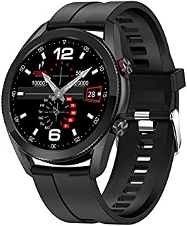 Intelligent Watch, Bluetooth 4.0 Waterproof Durable Business Portable Watch for Men&Women with Heart Rate Blood Pressure S...