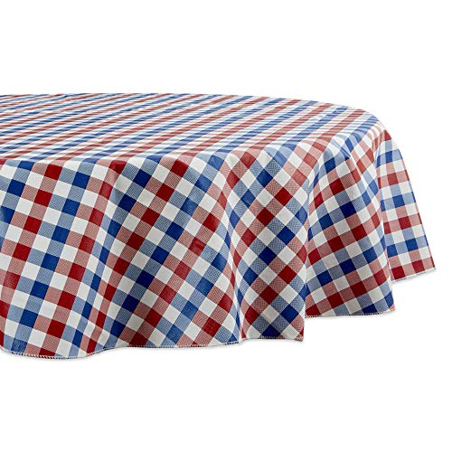 DII Tablecloth Vinyl Table Top, 70