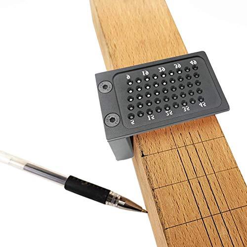 prom-note Holz Lineal Messlineal Anreißnadel T-Loch Anreißlehre Aluminiumlegierung Gekreuzte Füße Holzbearbeitungswerkzeug