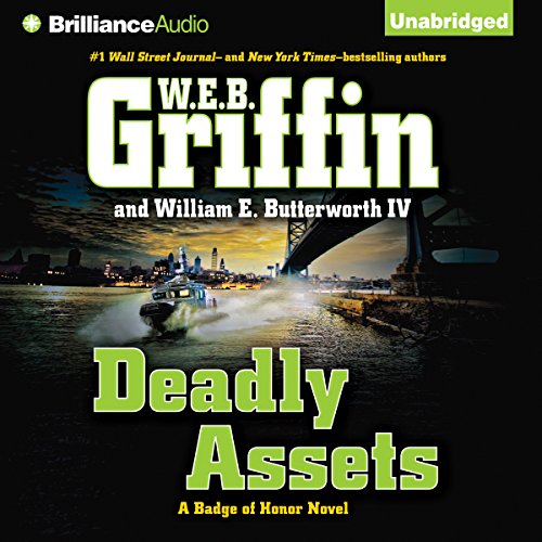 Deadly Assets audiobook cover art