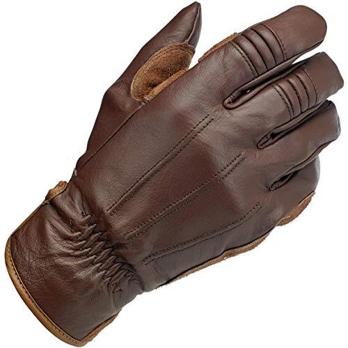 Biltwell Unisex-Erwachsene Handschuhe (Chocolate, XS)