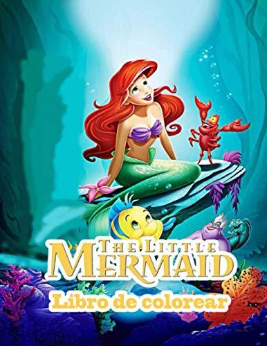 The Little Mermaid libro de colorear
