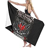 Beach Towel Toalla Deportiva, Adultos Unisex, Halestorm Beach Towel Soft Towel | Perfect for Swimming, The Beach Or Bath Time, Multi, 32' X 52'