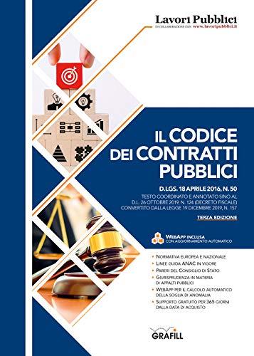 Codice dei contratti pubblici. Con Web App
