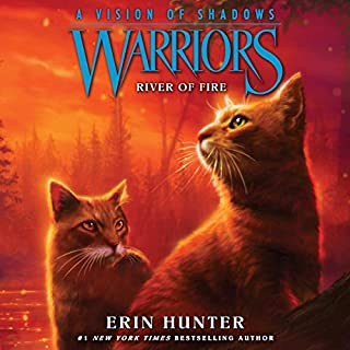 Warriors: A Vision of Shadows, Book 5: River of Fire audiobook cover art