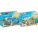 Playmobil- Acuario, única (9060) + Tienda del Acuario (9061)