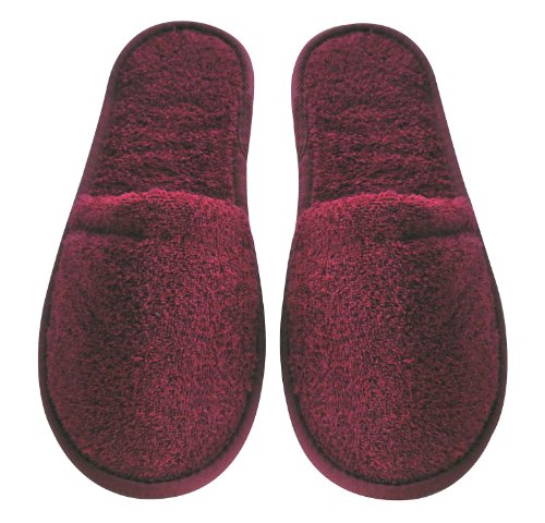 Arus Men's Turkish Organic Terry Cotton Cloth Spa Slippers