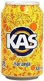 Kas Naranja - Bebida refrescante de zumo de fruta, lata 33 cl