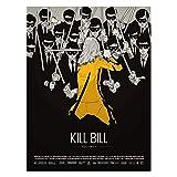 Blechschild Classic Kill Bill Movie Poster Retro Horror Bar
