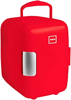 RCA Mini Refrigerador, color Rojo RC-4R