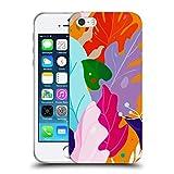 Head Case Designs Licenza Ufficiale Haroulita Foglie Colorate Foglie 2 Cover in Morbido Gel Compatibile con Apple iPhone 5 / iPhone 5s / iPhone SE 2016
