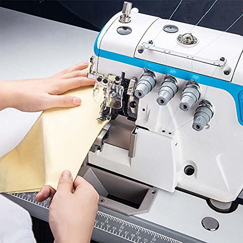FFYUE Máquina de Hemming Inteligente Industrial Totalmente automática, máquina de Dobladillo, Tipo de Tres Agujas, Adecuado para Coser Ropa Interior de Mujer Suelta, etc.