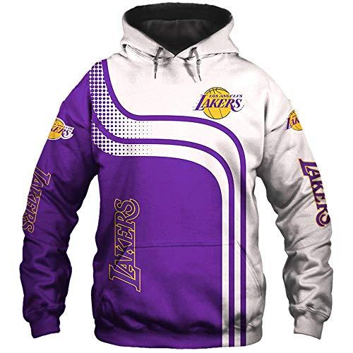 Sport Hoodies Pullover Lakers Basketball Digital-Sweatshirt Baseball Uniform Teens Jacke A-L