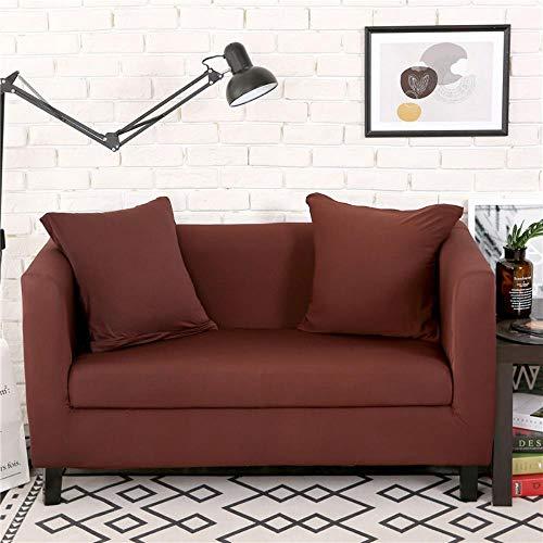 eaodz Plush Protective Cover Sofa Stretch Sofa Throw Sofa Cover Soft Thick Sofa Cover for Polyester Four-Seater Sofa (Applicable for 235-300Cm)