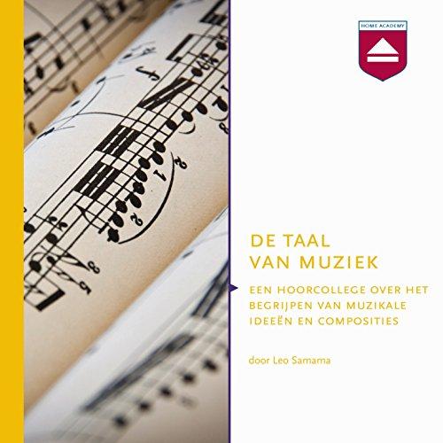De taal van muziek audiobook cover art