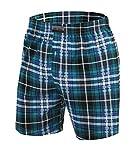 Sesto Senso Pijama Pantalon Corto Hombre Algodón 1-2 Pack Pantalón de Dormir Cuadros o Liso XXL 11