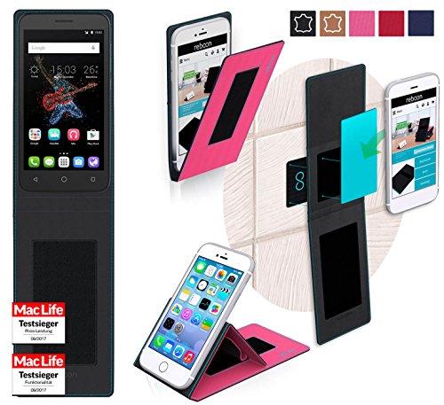 Hülle für Alcatel OneTouch Go Play Tasche Cover Hülle Bumper   Pink   Testsieger