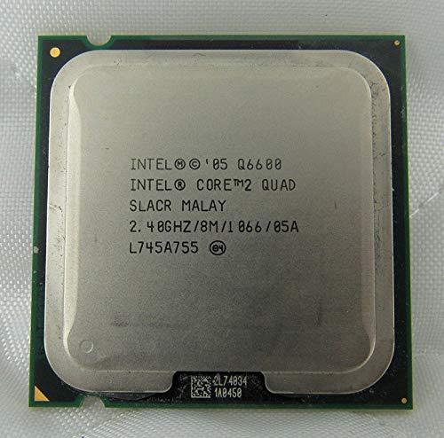 Intel - Processore CPU Core 2 Quad Q6600 2.4Ghz 8MB FSB 1066Mhz LGA775 SLACR