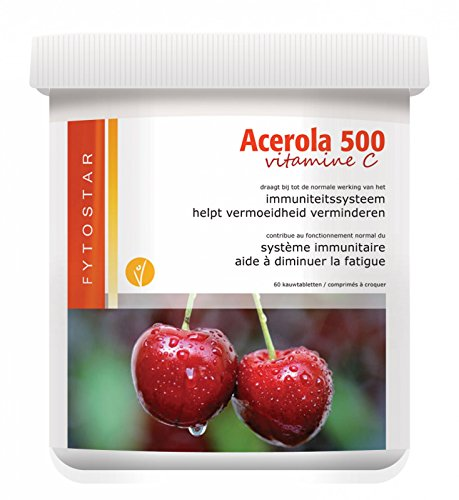 Fytostar Acerola Vitamine C 500 Kauw, 150 Stuk, 150 Tablet