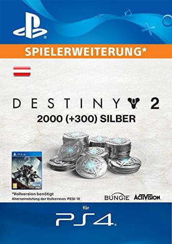 2000 (+300 Bonus) Destiny 2 Silber [PS4 Download Code - österreichisches Konto]