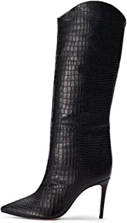 Fashion High-Heeled Knee Boots Women's Shoes