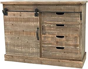 chemin_de_campagne Bahut Kommode, Küchenmöbel, Holz, industriell