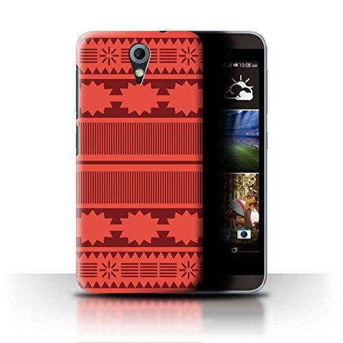 Stuff4® Hülle/Case für HTC Desire 620G / Aztek/Prinzessin Kleid Muster/Karikatur Polynesische Prinzessin Kollektion
