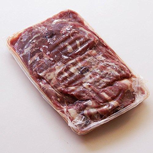 熟成ラム肉 仔羊 カルビ ニュージーランド産パック500g(凍)x24パック業務用ケース