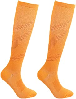 Hankyky Compression Socks Casual Knee High/Long Printed Polyester Nylon Hosiery Footwear Accessories For Women Men