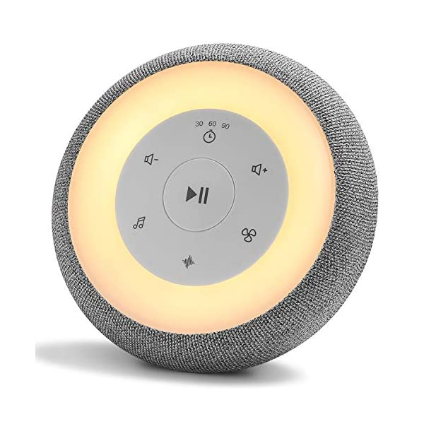 White Noise Machine with Baby Night Light, Sleeping Sound Machine for Baby and Adult,...