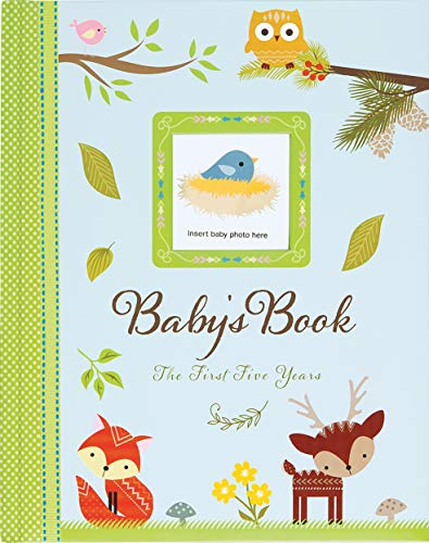 Product Image of the Baby's Book: The First Five Years (Woodland Friends)