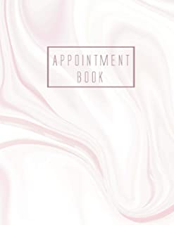 Appointment Book: 8 Column Appointment Book for Salons, Spas, Hair Stylist, Daily and Hourly Schedule Notebook, Appointment Scheduling Book, Salon ... Book 15 Minute Increments) (Volume 6)