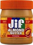Jif Almond Butter, Creamy, 12 Ounce