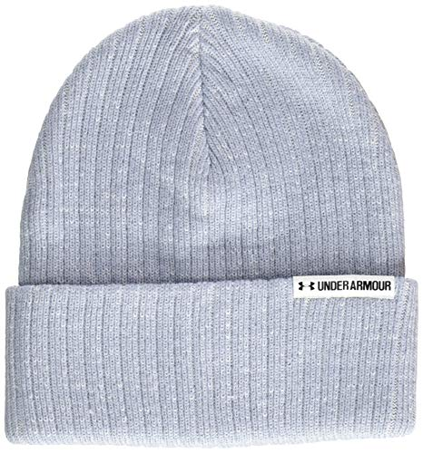 Under Armour Dames Boyfriend Cuff Beanie muts, blauw, eenheidsmaat
