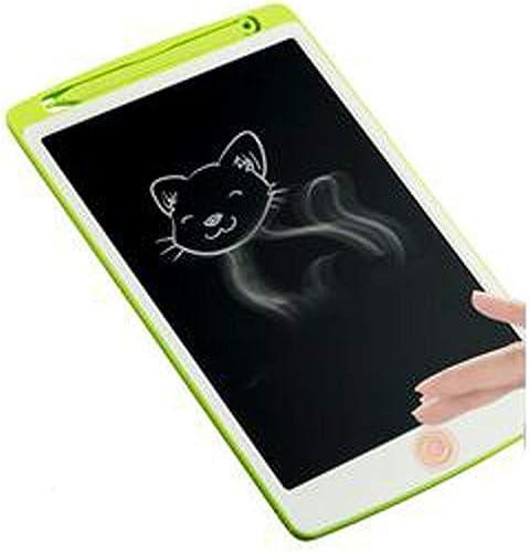 Jiansheng LCD-Tablet, Schreibtablett, elektronisches Komponentenmaterial, geeignet für die Früherziehung, Bürolernen, Kinder, Studenten, Erwachsene, 22,8  14,4  1,5 cm, Grün