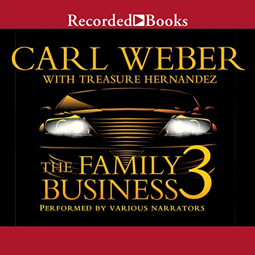 The Family Business 3     The Return to Vegas              By:                                                                                                                                 Carl Weber,                                                                                        Treasure Hernandez                               Narrated by:                                                                                                                                 Jules Williamson,                                                                                        Kevin R. Free,                                                                                        Diana Luke,                   and others                 Length: 8 hrs and 34 mins     1,307 ratings     Overall 4.6