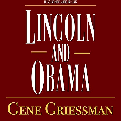 Lincoln and Obama audiobook cover art