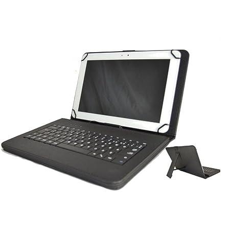 Theoutlettablet® Funda con Teclado extraíble en español (Incluye Letra Ñ) para TabletSamsung Galaxy Tab A 10.1