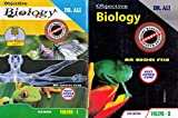 Objective Biology An Excel File For NEET , JIPMER , AIIMS Set Of 2 Volumes (2020-2021) Session [10th Edition]