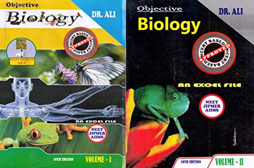 Objective Biology An Excel File For NEET, JIPMER, AIIMS Set Of 2 Volumes